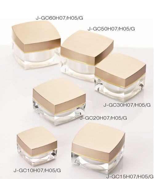 J-GC Series Square Jar